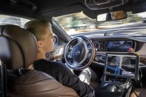 LG разработает камеры для беспилотных автомобилей Mercedes-Benz
