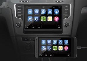 Volkswagen получит поддержку CarPlay, Android Auto и MirrorLink
