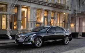 В Шанхае представили гибридную версию Cadillac CT6