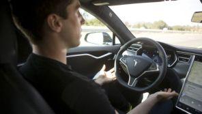 Автопилот Tesla чуть не убил водителя