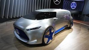 Mercedes представил автономный минивэн будущего