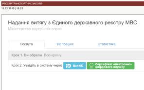 Теперь официально: МВД открыло реестр владельцев транспортных средств