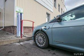В Минске появилась первая электрозаправка E-Cars местного производства
