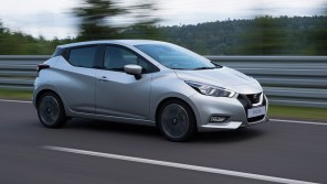 Nissan Micra научился останавливаться перед пешеходами