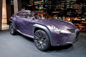 Goodyear изготовил специальные шины для нового концепт-кара Lexus UX