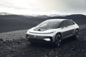 Faraday Future презентовал свой электромобиль FF 91 с запасом хода 608 км и автопилотом