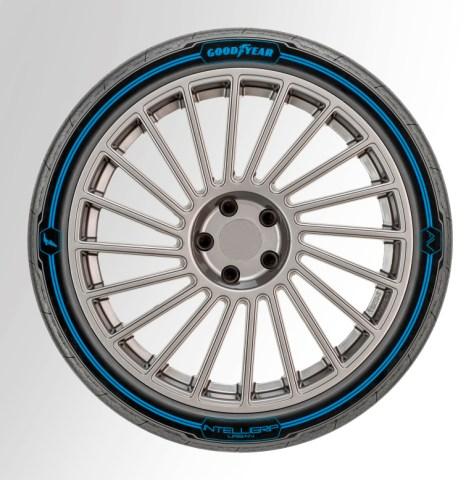 Goodyear представил «умные» шины IntelliGrip Urban для беспилотных электрокаров