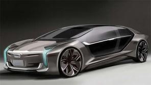 Quoros и Koenigsegg представят электросуперкар Model K-EV с ассиметричными дверьми