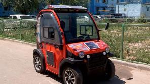 Казахи представили двухместный электромобиль всего за 200 долларов