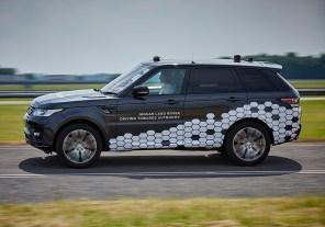 Jaguar Land Rover представили первый автономный кроссовер