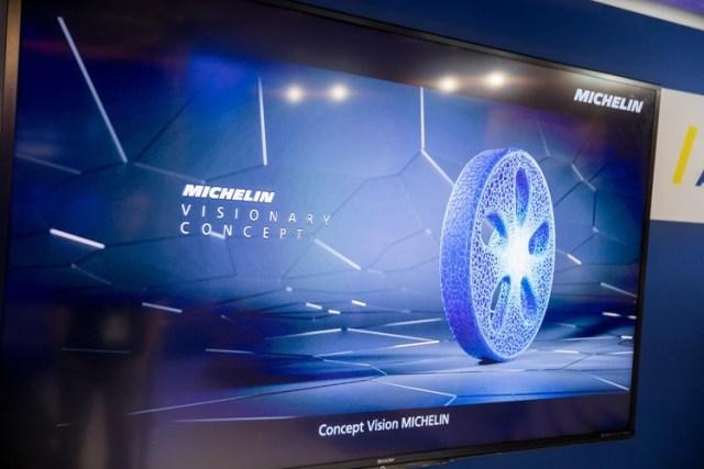 Michelin представили биоразлагаемые шины с датчиками для автомобилей будущего