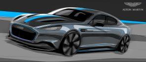 Aston Martin выпустят лимитированную серию электромобилей RapidE