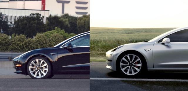 Чем отличаются тестовая версия Model 3 от серийной: сравнение