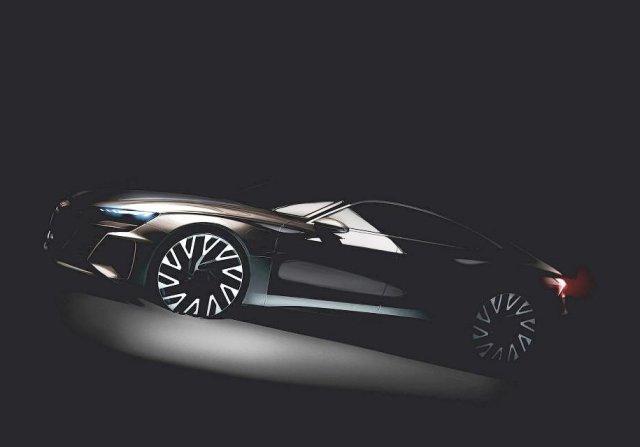 Audi подтвердили выпуск полностью электрического купе e-tron GT