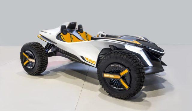 Hyundai представили электрический багги, превращающийся в водный мотоцикл