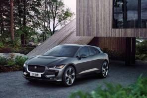 Jaguar объявили украинские цены на полностью электрический кроссовер I-PACE