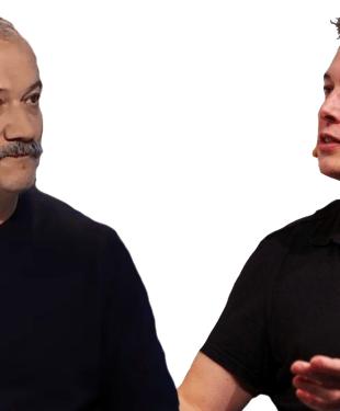 Український нардеп Віктор Пинзеник проти Ілона Маска