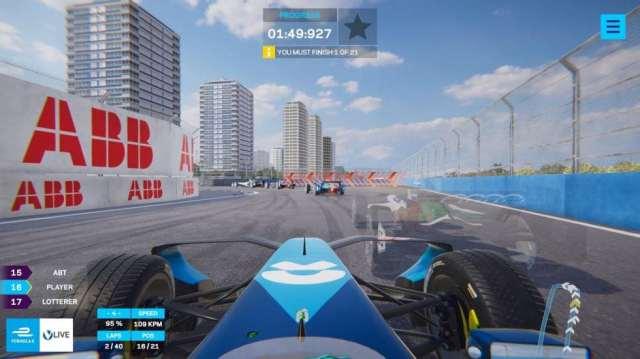 Formula E: В новой игре пользователи смогут погонять с настоящими гонщиками в реальном времени