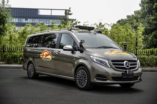 Теперь и Китай: немцам из Mercedes разрешили тестировать беспилотные минивэны уже в третьей стране