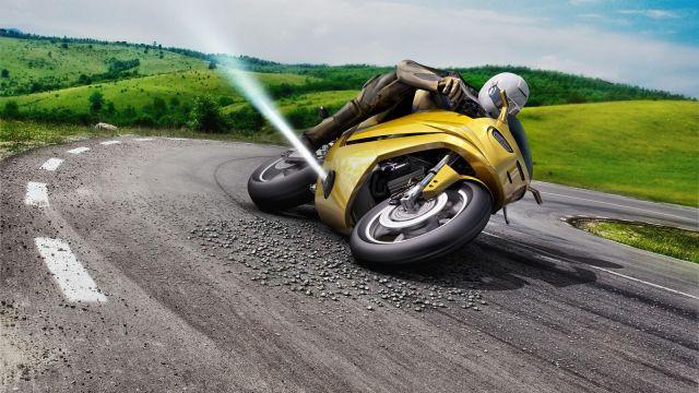 """""""Зрячий байк"""": Bosch разработал технологию автономного вождения для мотоциклов"""
