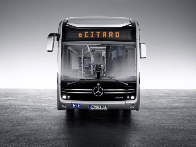 В Mercedes раскрыли подробности о новом электробусе eCitaro. Опубликованы фото