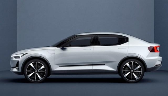 Polestar готовят модель 2 как конкурента Tesla Model 3