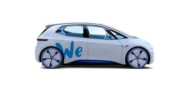 В Volkswagen рассказали, когда запустят каршеринг электромобилей WE