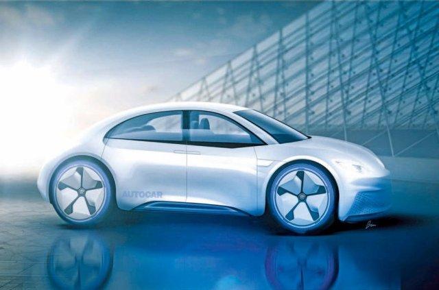 Возвращение легенды: Volkswagen могут превратить Beetle в электромобиль