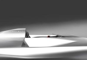Infiniti показали концептуальный электрический родстер с нового ракурса