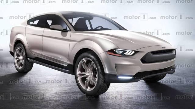 Новый электрокроссовер Ford будет вдохновлен культовым маслкаром Mustang