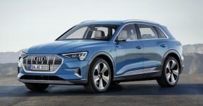 Audi представила серийный электрокроссовер e-tron. Объявлены характеристики и цены