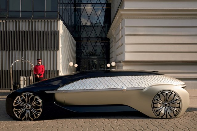 Маршрутка будущего: Renault представили автономный робомобиль EZ-ULTIMO