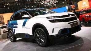 Citroen готовится запустить в серийное производство флагманский электрокроссовер C5 Aircross