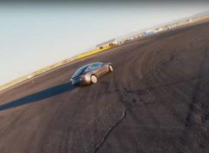 Tesla Model 3 Performance получила трековый режим и научилась дрифтовать