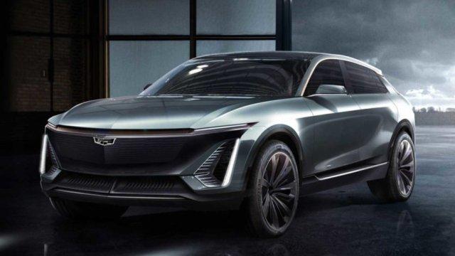 В GM показали, как будет выглядеть первый электрический Cadillac: опубликованы фото