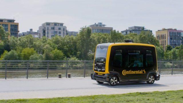 В Continental придумали новый вид доставки: собаки-роботы будут разъезжать на беспилотниках