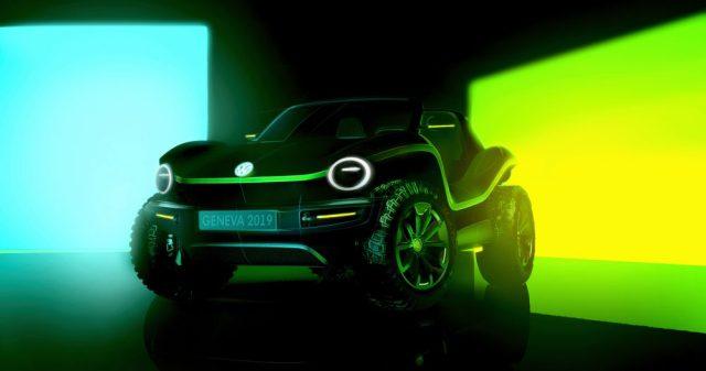 Volkswagen показал фото самого нескучного электромобиля марки
