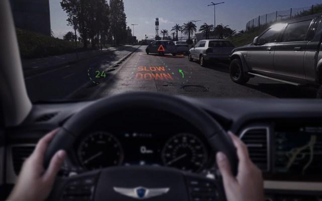 Будущее автотранспорта по версии Hyundai: интерактивное лобовое стекло и беспилотники Elevate