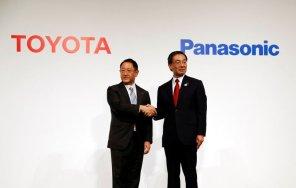 Toyota и Panasonic создадут совместное производство аккумуляторов для электромобилей
