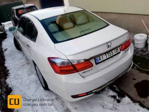 В Украине засветилась редчайшая Honda Accord Plug-in Hybrid