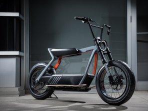 Harley-Davidson представил концепт электроскутера со съемной батареей: фото