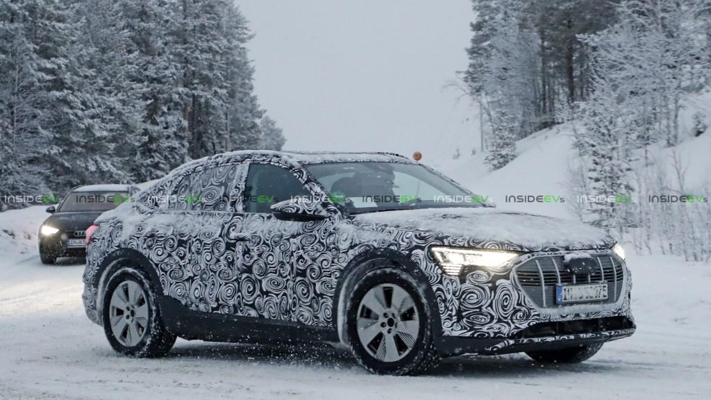 e-tron Sportback: Фотошпионы засекли электромобиль Audi в новом кузове