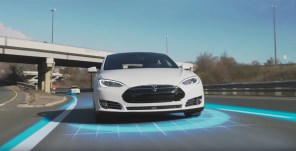 Обновление автопилота Tesla позволит электромобилю менять полосу без одобрения водителем