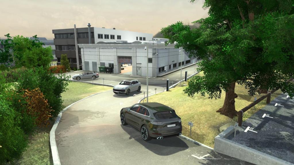 Porsche начинает испытания системы беспилотного движения для сервисных станций
