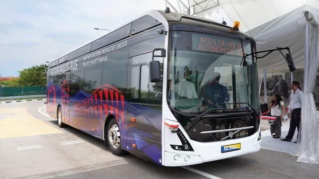 Volvo представила полноразмерный пассажирский электробус-беспилотник