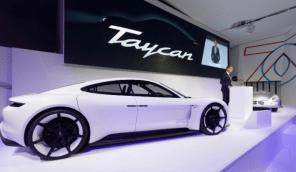На электромобили Porsche Taycan будут устанавливать батареи нового поколения