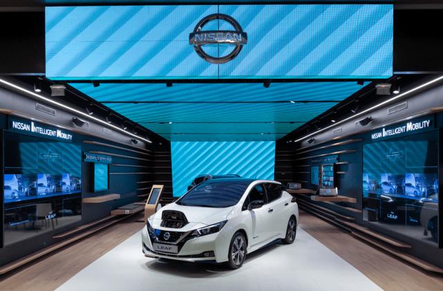 Nissan City Hub: во Франции открылся самый инновационный автосалон марки