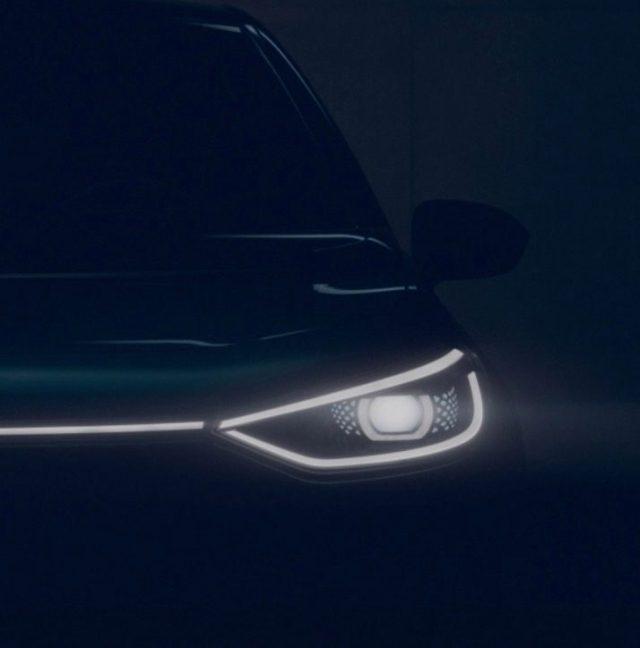 Volkswagen опубликовал тизер своего бюджетного электромобиля