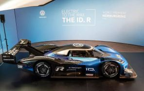 2,25 секунды до сотни: Volkswagen показал электроболид ID.R, который посягнет на рекорд Нюрбургринга