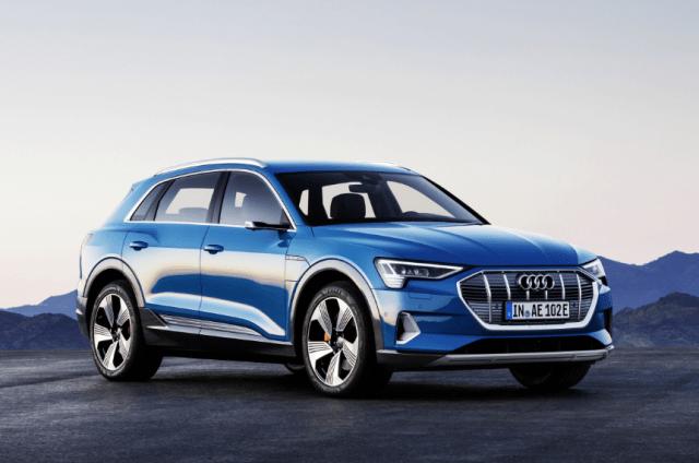 В Audi отчитались о количестве заявок на электромобиль e-tron: треть - из Норвегии